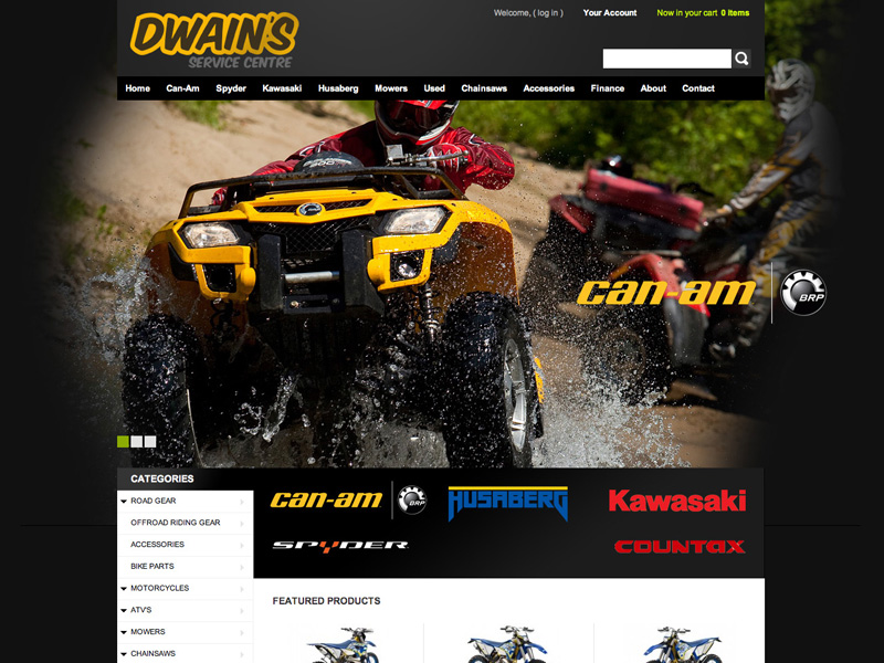 Motorcycle Shop [WEB DESIGN]